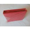 GUMIS Jersey lepedő 100% pamut 90x200 cm - piros színben