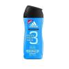 Adidas 3in1 After Sport Férfi dekoratív kozmetikum Tusfürdő gél 400ml