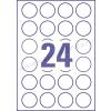 40 mm 24 db/ív Rayfilm íves etikett körcímke
