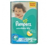 Pampers Active Baby 4+Maxi GiantPack Pelenka, 70 db pelenka
