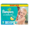 Pampers Active Baby 5 Junior Giant Box Pelenka, 78 db