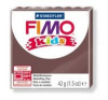 Gyurma, 42 g, égethető, FIMO Kids, barna süthető gyurma