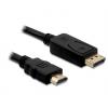 DELOCK Cable Displayport male -> HDMI male 2m (82587)