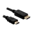 DELOCK Cable Displayport male -> HDMI male 2m (82587)