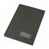 VICTORIA Aláírókönyv, A4, 20 részes, karton, mûbõr hatású borító, VICTORIA, fekete