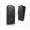Slim Slim Flexi Flip bőrtok - Samsung SM-G925 Galaxy S6 Edge - fekete