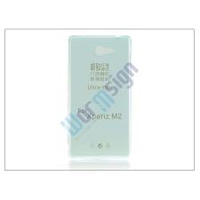 Sony Sony Xperia M2 (D2305) szilikon hátlap - Ultra Slim 0,3 mm - kék tok és táska