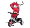 Chipolino Twister tricikli kupolával - Red lábbal hajtható járgány