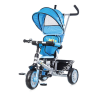 Chipolino Twister tricikli kupolával - Blue lábbal hajtható járgány