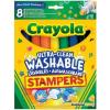 Crayola Extra-kimosható nyomdafilc 58-8129