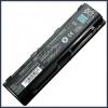 Toshiba PABAS259 6600 mAh 9 cella fekete notebook/laptop akku/akkumulátor utángyártott