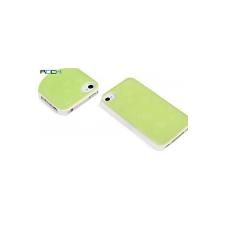 Rock Pure Dew muffin mintás műanyag hátlaptok Apple iPhone 4,  4S-hez zöld* tok és táska