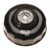 BGS Technic Olajszűrő leszedő kupak 084 mm x 14 lap (9-1007)