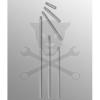 GENIUS TOOLS Bit spline M12 x 200 mm Genius ( 8812 )