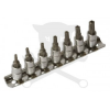 Laser Tools Bit készlet torx 5 ágú-lyukas 07 db-os 1/4
