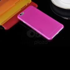 Iphone 6 szilikon tok - matt sötét pink tok és táska