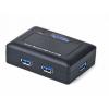 Gembird 4 portos USB 3.0 HUB  fekete