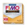 Gyurma, 56 g, égethető, FIMO Effect, metál arany