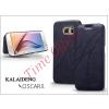 Kalaideng Samsung SM-G920 Galaxy S6 flipes tok - Kalaideng Oscar 2 Series - dark blue