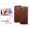 Kalaideng Samsung SM-G920 Galaxy S6 flipes tok - Kalaideng Oscar 2 Series - brown