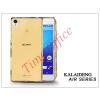 Kalaideng Sony Xperia Z3+/Z4 (E6553) szilikon hátlap üveg képernyővédó fóliával - Kalaideng Air Series - gold
