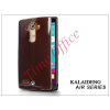 Kalaideng LG G4 H815 szilikon hátlap üveg képernyővédó fóliával - Kalaideng Air Series - black