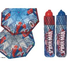 Pókember gyermek esernyő , kék