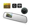 Autóba szerelhető, érintőképernyős, visszapillantó monitor autós kellék