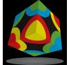 V-Cube V-Cube 3x3TM  versenykocka, Körök logikai játék