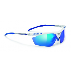Rudy Project Magster Racing White - Multilaser Blue lencsével
