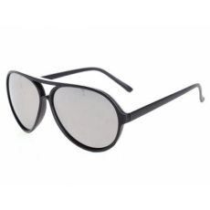 Aviator - Black matt tükrös