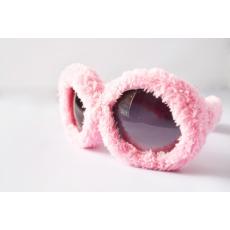 Plüss Rugy Bugy party napszemüveg - rózsaszín