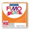 Gyurma, 42 g, égethető, FIMO Kids, narancssárga