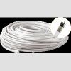 Strong Coax kábel szett (15m, F csatlakozóval, kábelrögzítõkkel)