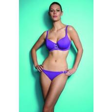 Revolution szivacsos félkosaras bikini felső szett - shorttal - ametiszt