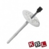 KBL-Hungária Fémszeges tárcsás dübel 10x160 mm