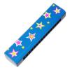 Szájharmónika (kék,csillagos)