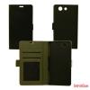 CELLECT Huawei P8 Flip oldalra nyiló tok+tartó,Fekete