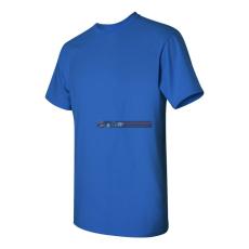 Gildan Kereknyakú póló Királykék M