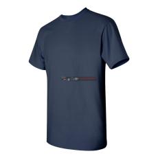 Gildan Kereknyakú póló Tengerészkék L