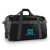 Capital Sports Travel L, utazótáska, hátizsák, 90 l, kocsi, vízlepergető, fekete