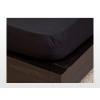 Jersey gumis lepedő Fekete 200x200 cm