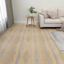 55 db barna öntapadó PVC padlólap 5,11 m² építőanyag