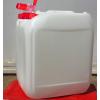 Műanyag kanna 20 l-es nagyszájú csapos kupakkal ADR-es