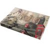 VIQUEL Gumis mappa, 30 mm, PP, A4, LONDON Propyglass mappa