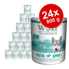 Wolf of Wilderness gazdaságos csomag 24 x 800 g - Wild Hills - kacsa