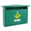 NEMMEGADOTT postaláda Alpesi-1 záras zöld horg. CS
