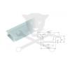 Elmark Profil, alumínium - LED szalaghoz - süllyeszthető, 2 méteres ELMARK (99ACC12) villanyszerelés