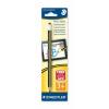 """STAEDTLER Érintőceruza, érintőképernyős készülékekhez, vastag, HB,  """"Noris Stylus"""", fekete/sárga"""