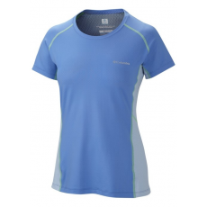 Columbia Freeze Degree III Short Sleeve Shirt Sport póló,aláöltöző D (AL6580m_485-Harbor Blue)